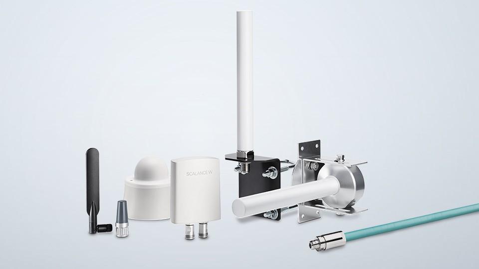 SCALANCE W-Antennen und Zubehör für IWLAN