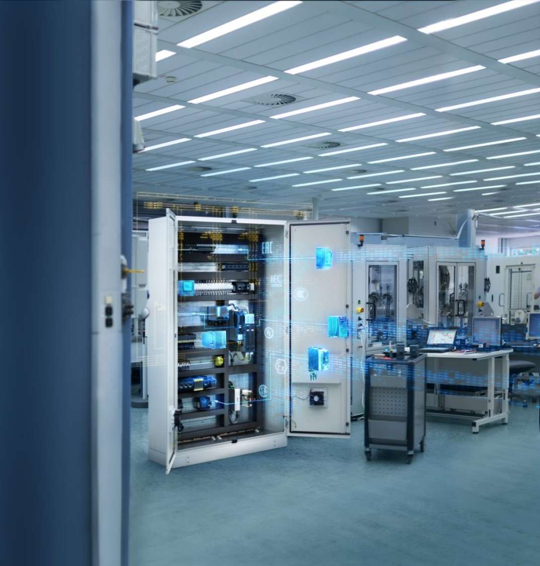 Control Panel Building - Integrated Control Panels from Siemens