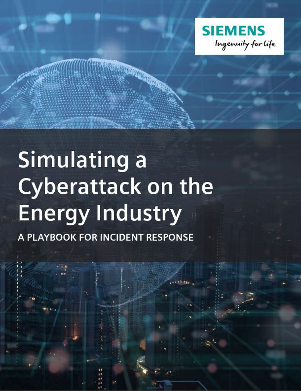 Simulating a Cyberattack on the Energy Industry