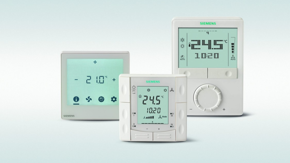 Thermostats d'ambiance communicants Siemens