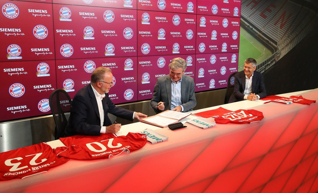 Siemens and FC Bayern partnership go into extra time