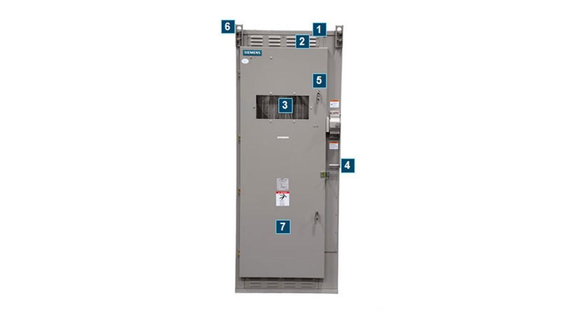 SIEBREAK metal-enclosed interrupter switchgear identification