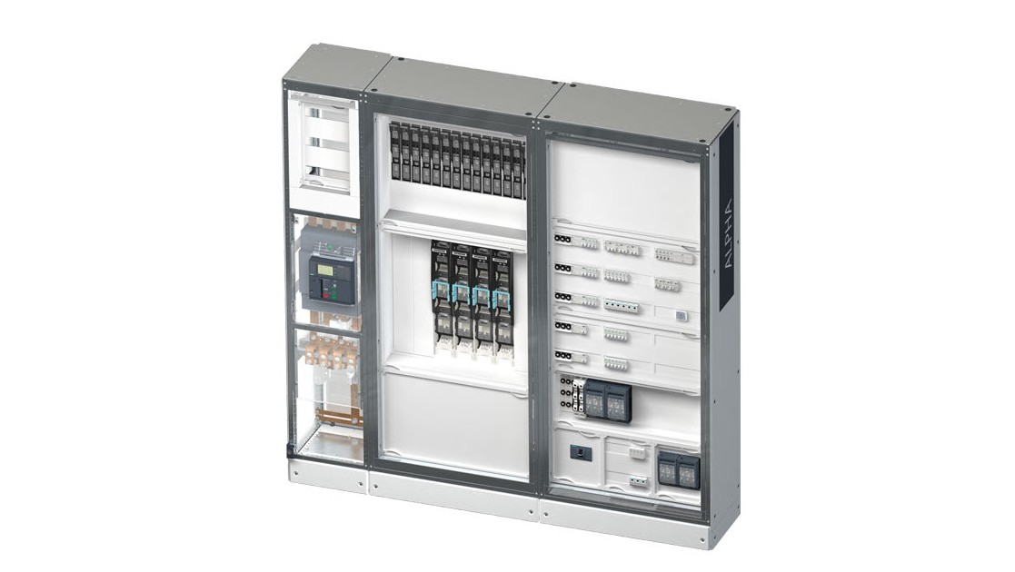 The ALPHA 3200 eco power distribution board is optimally suited for use in buildings