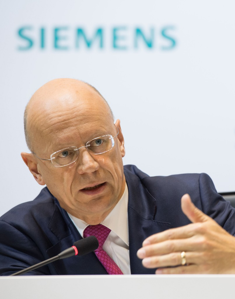 Siemens Annual Press Conference 2016 in Munich, Germany: Ralf P. Thomas, Member of the Managing Board and Chief Financial Officer Siemens AG.