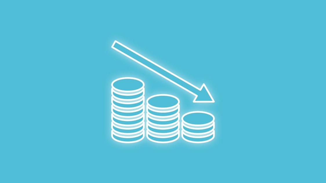 Icon für geringere Kosten dank Analyze MyDrives