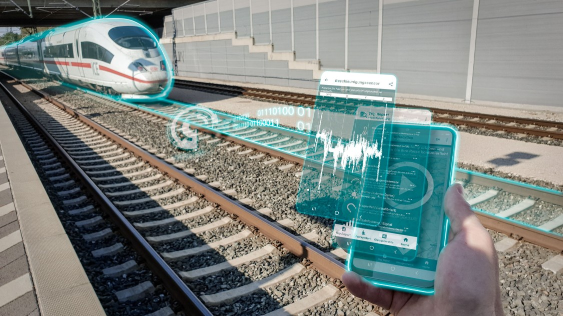Track monitoring smartphone app