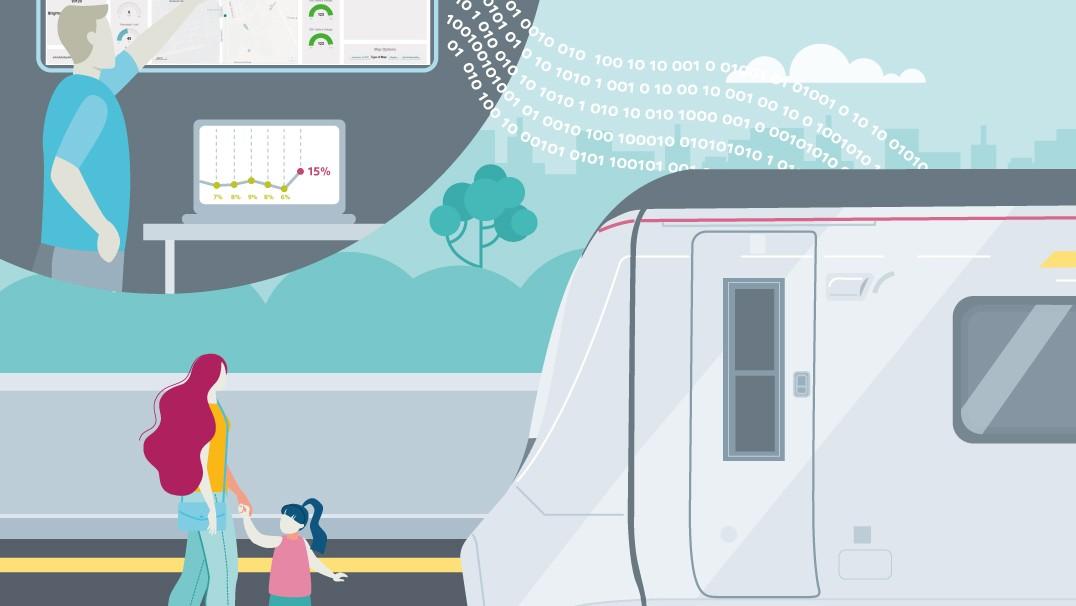 Intelligent technology helps monitor train capacity