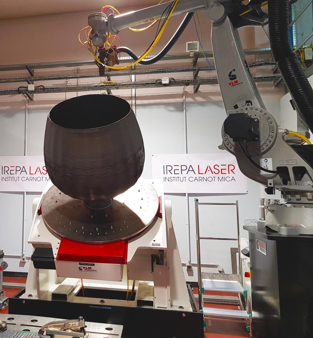 Construction du premier prototype de moule à échelle un demi