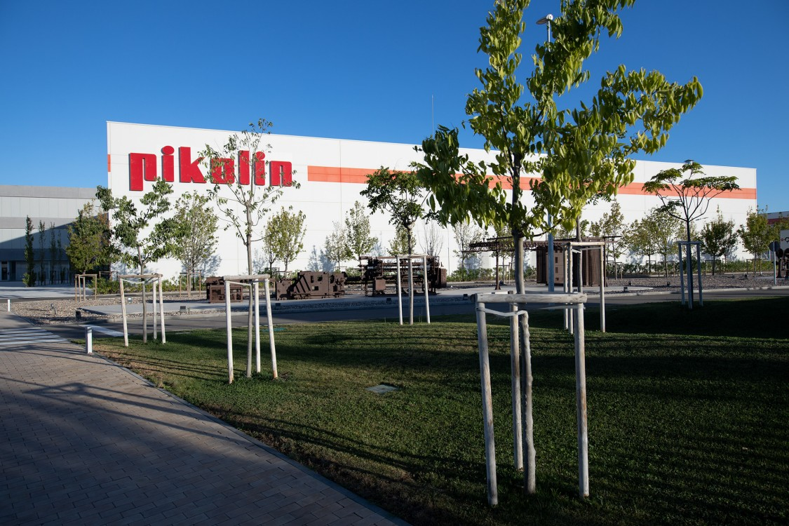 Pikolin facilities in Zaragoza