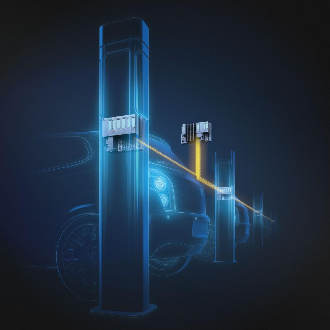 Systémové řešení sledování výroby a údržby pro automobilový průmysl