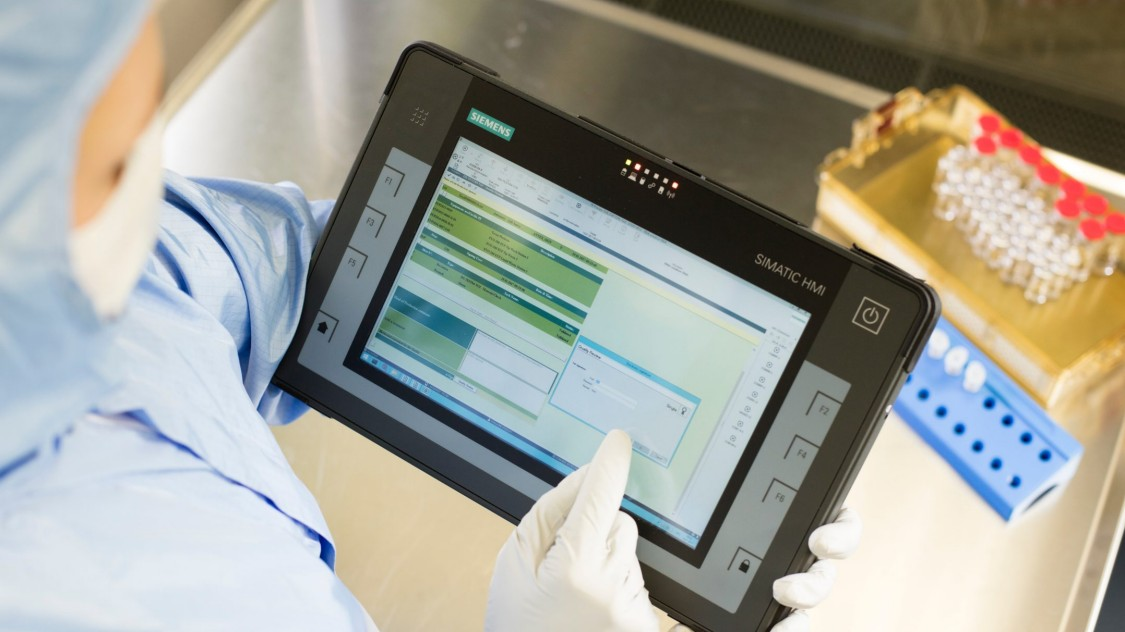 Papierlose Fertigung in der biopharmazeutischen Industrie: SIMATIC IT eBR
