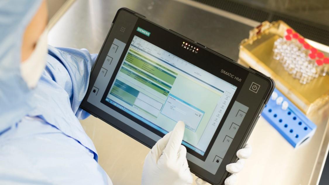 Інноваційне виробництво біофармацевтичної продукції завдяки безпаперовому повністю цифровому виробництву:  SIMATIC IT eBR