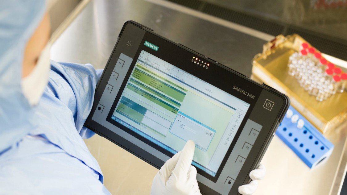 Die Digitalisierung der Produktion sorgt für flexible Prozesse in der Pharmaindustrie