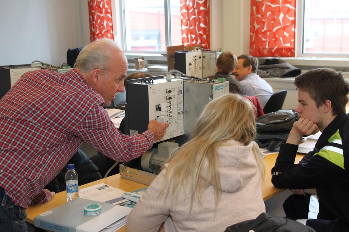 LKAB satsar på repetitionsutbildningar från Siemens för att hålla produktionen igång
