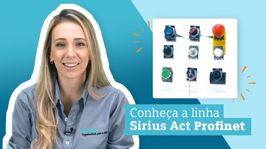 SIRIUS ACT com PROFINET