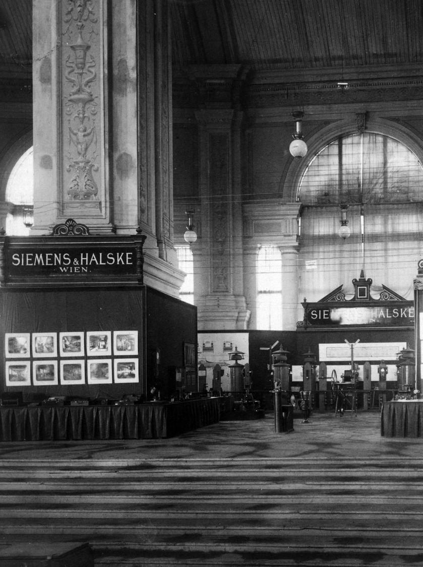 International Electrical Exhibition, Vienna, 1883