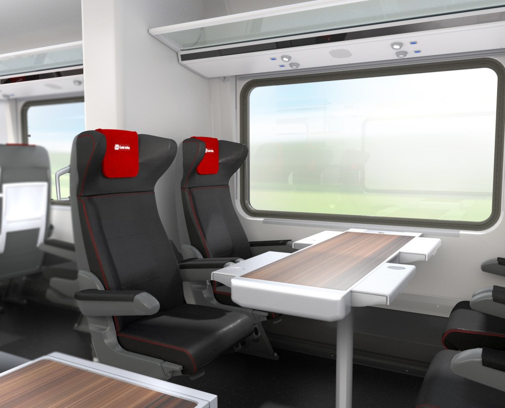 Czech Railways orders 50 passenger cars