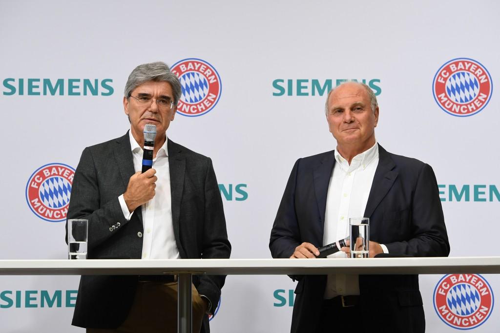 Proud partner of FC Bayern Munich