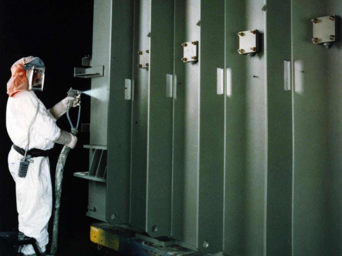 Umweltfreundlicher Korrosionsschutz für Leistungstransformatoren, 1996