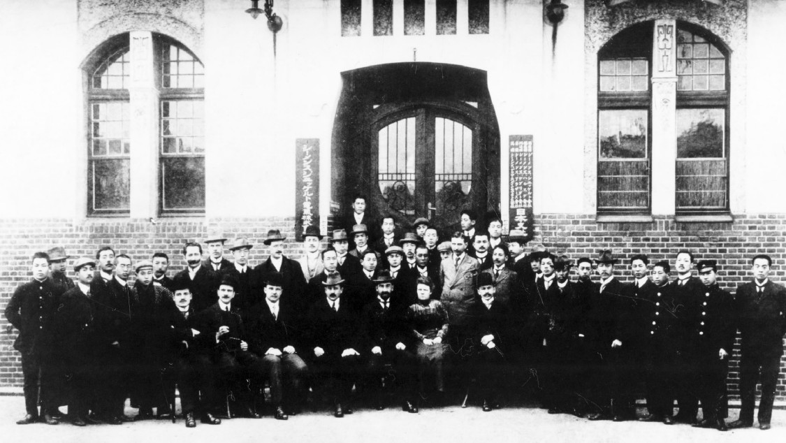 Schuckert Denki employees, 1919
