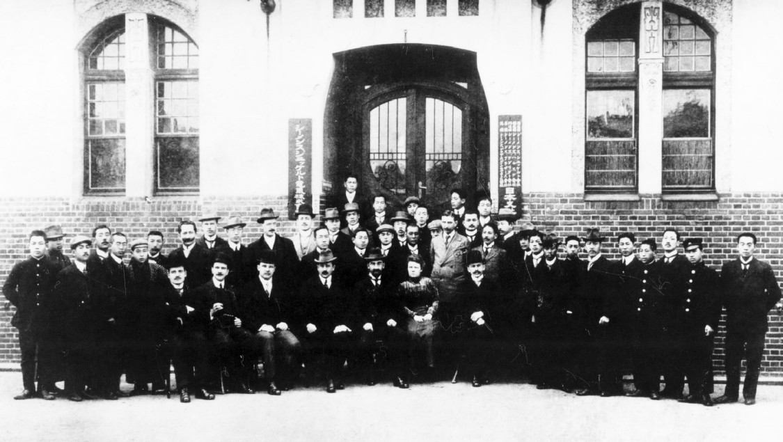 Angestellte Siemens Japan, 1919