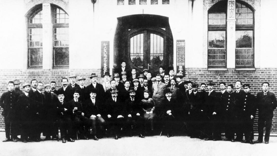 Siemens Japan employees, 1919