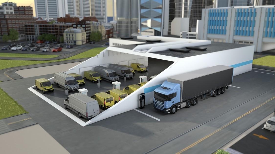image of a truck fleet