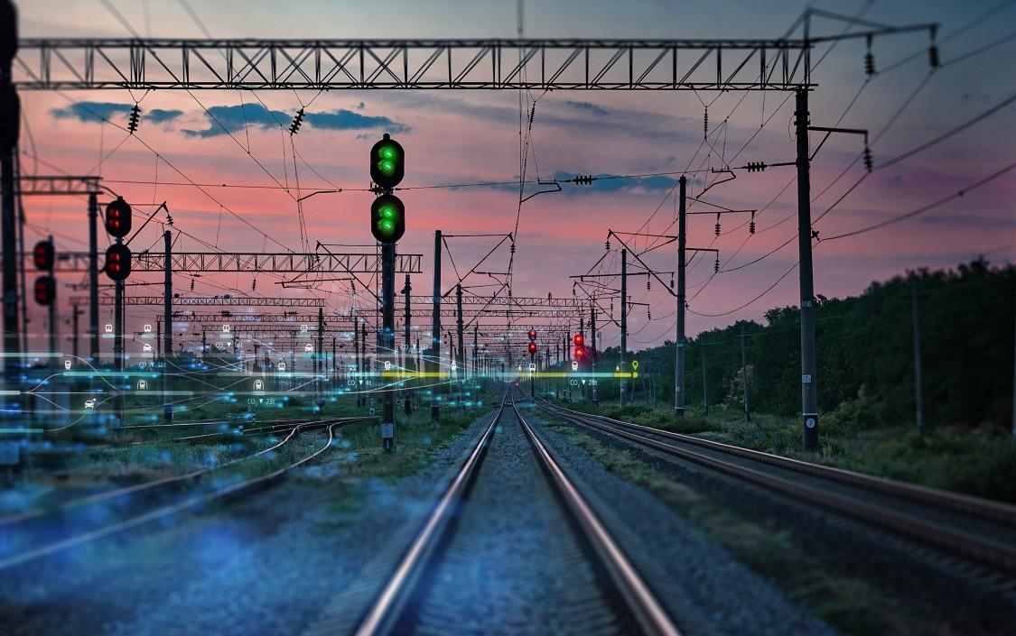 Rail way tracks