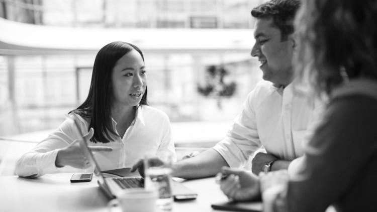 Menschen bei Siemens Advanta Consulting