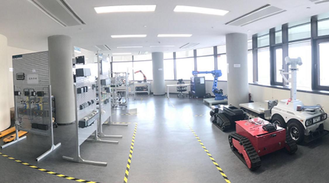 西门子与澳柯玛机器人应用联合实验室