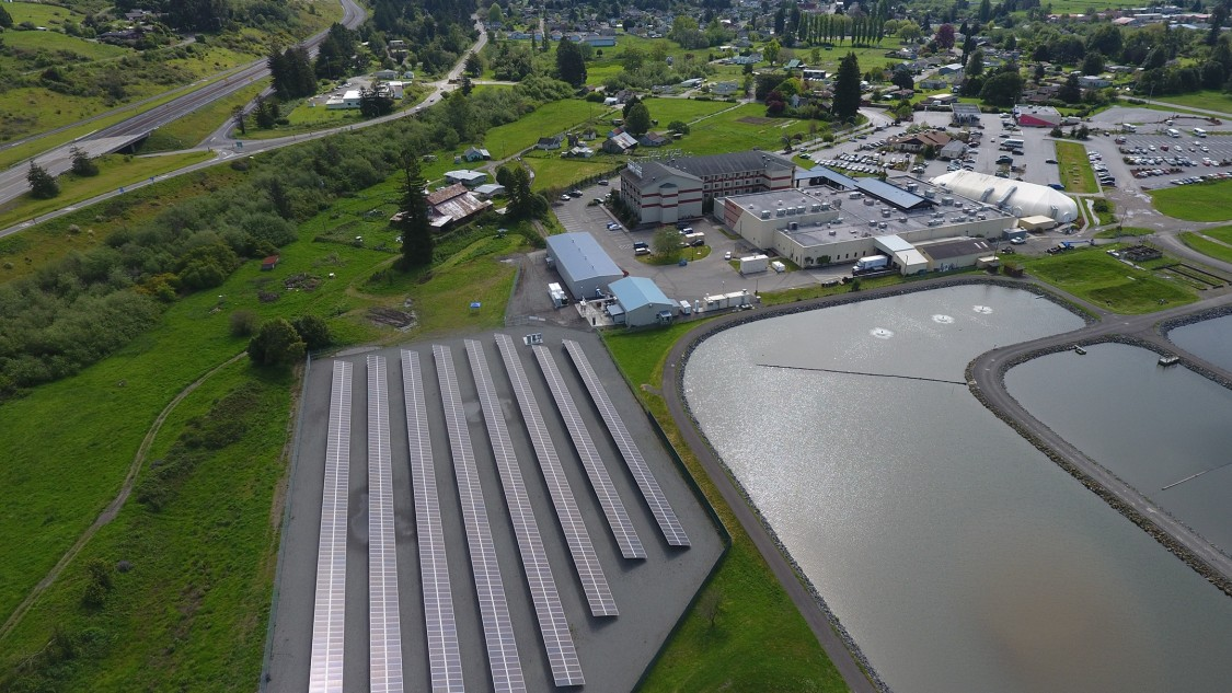 Blue Lake Rancheria photovoltaic plant