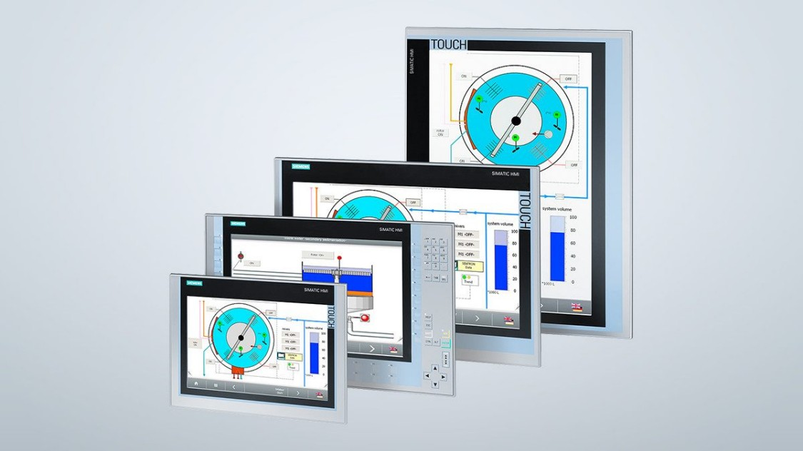 Промышленные сенсорные мониторы SIMATIC