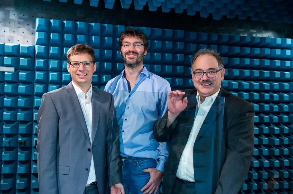 Andreas Demmer, Lukas W. Mayer and Mehrdad Madjdi - Erfinder des Jahres 2018