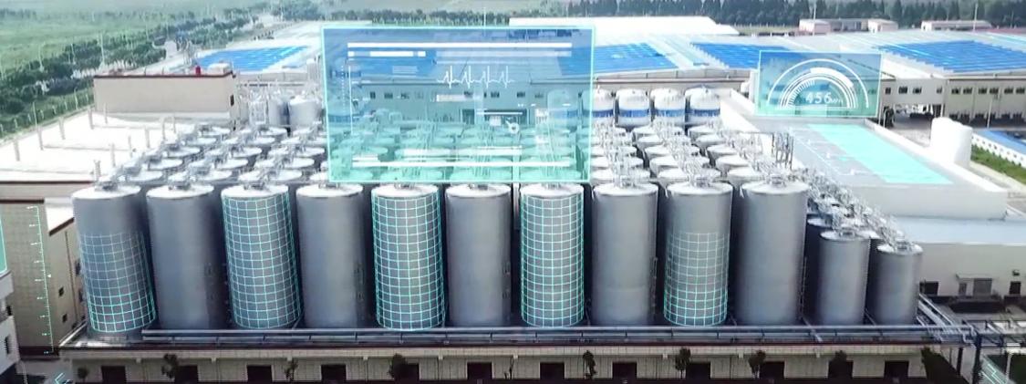 China Resources Snow Wuhan ist die größte Brauerei in Zentralchina