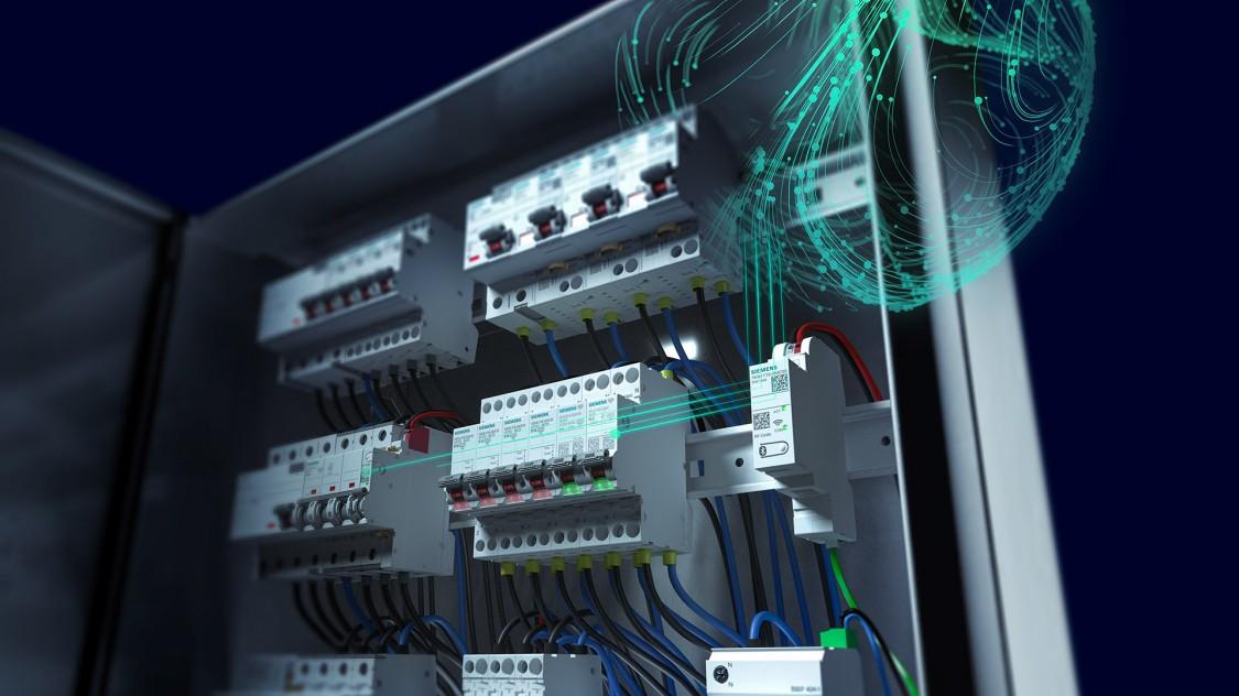Key Visual SENTRON Schutzschaltgeräte kommunikationsfähig