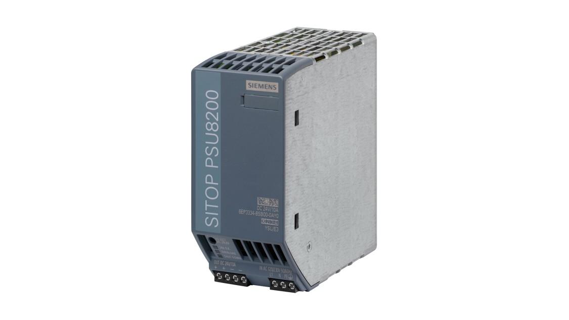 SITOP PSU8200(単相、DC 24 V/10 A)の製品画像