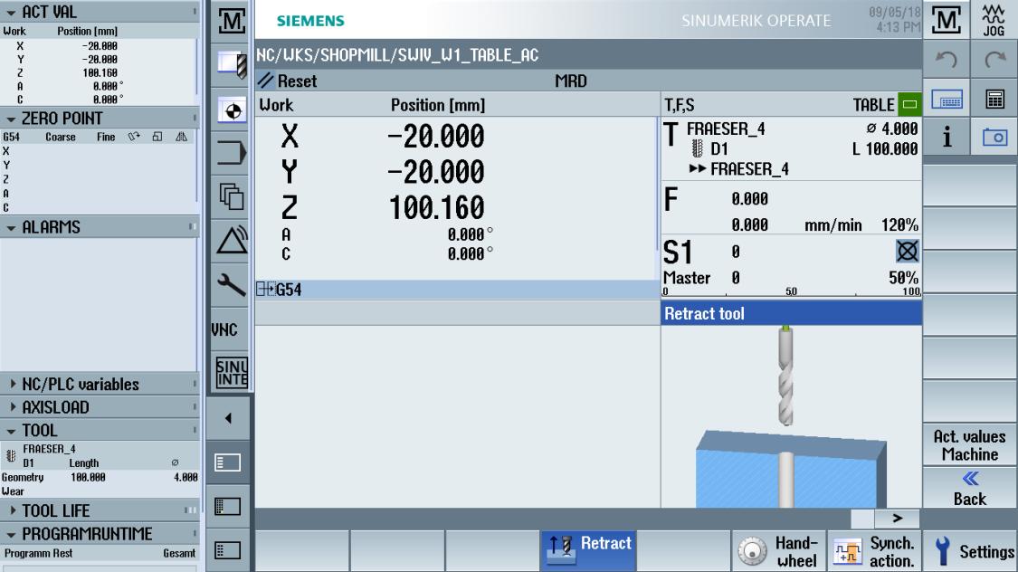 sinumerik machining - easy setup