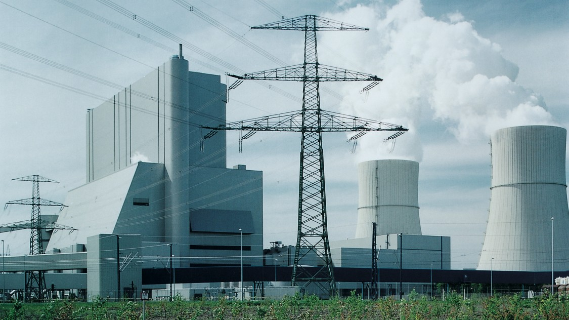 "Central eléctrica ""Schwarze Pumpe"""