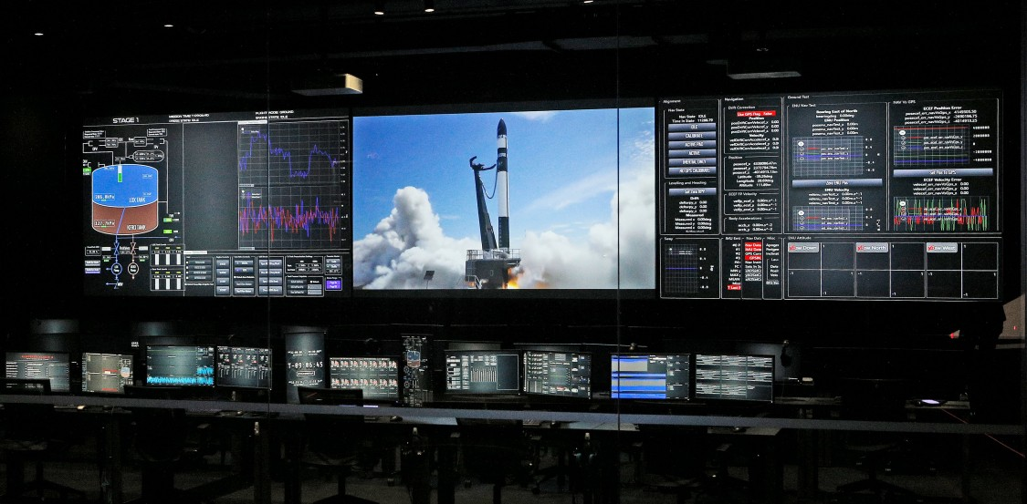 Rocket Lab mission control