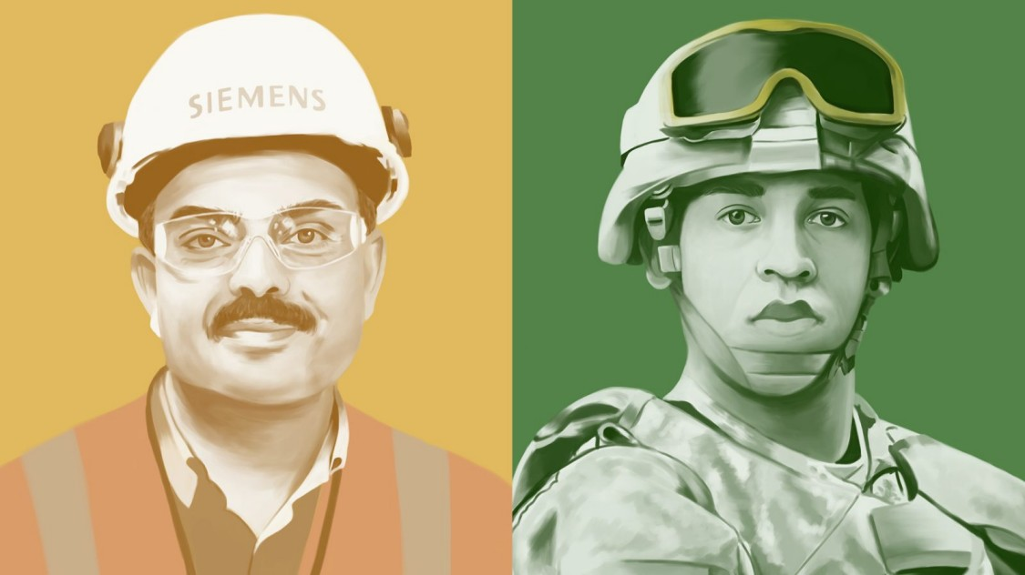 Arbeiten bei Siemens - Den Militärdienst beenden: warum es schwieriger ist, als man vielleicht denkt.