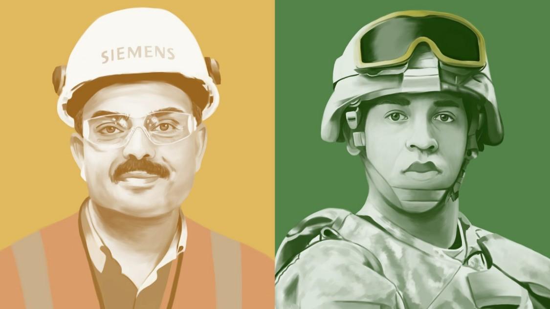 Der Kampf : Von dem Militärdienst in den Arbeitsmarkt