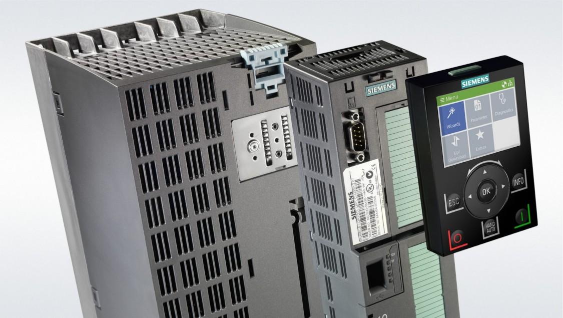 G120P mit modularem Aufbau