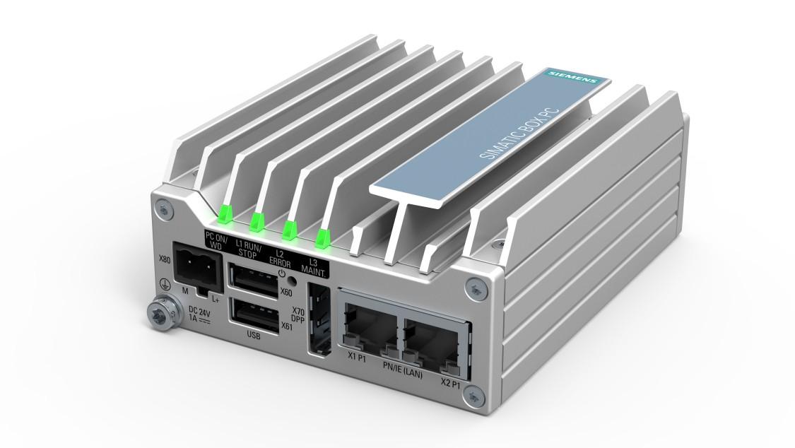 Промышленный безвентиляторный компьютер SIMATIC IPC127E
