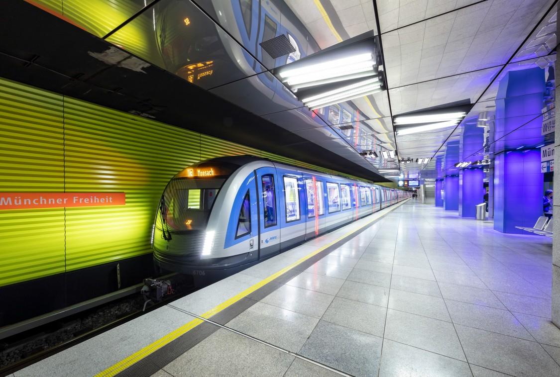 Siemens U-Bahnen für München
