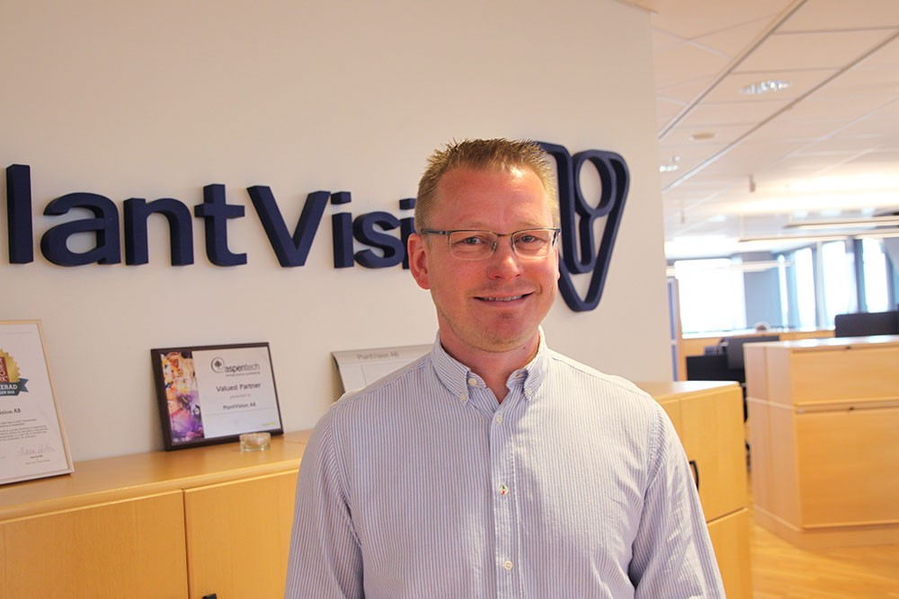Stefan Jansson, teamledare på PlantVision.
