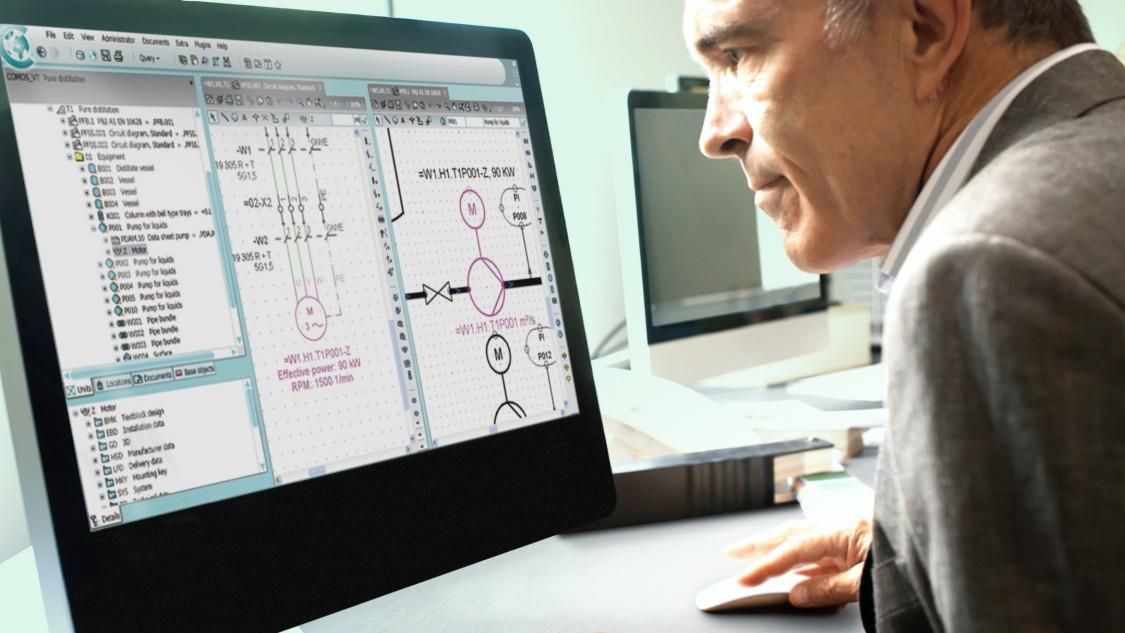 凭借 COMOS EI&C 的一体化面向对象的 EI&C 工程设计,提高工程质量。