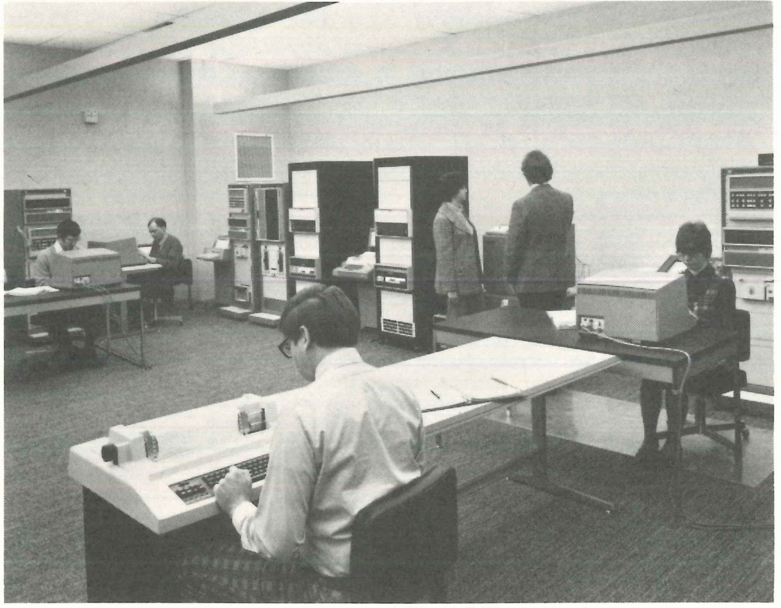 Flashback:  A look at a few of the first engineers and developers to work at  PTI