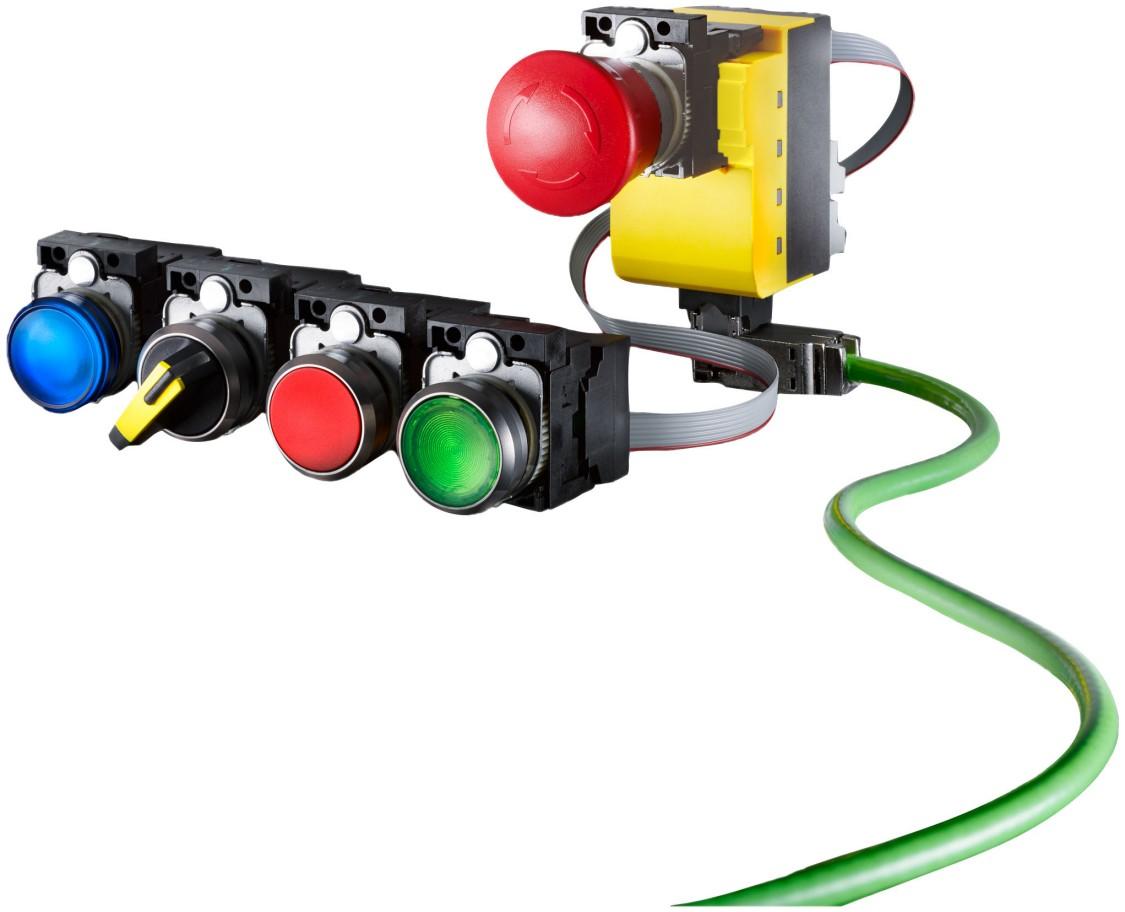 Tryckknappar och signallampor