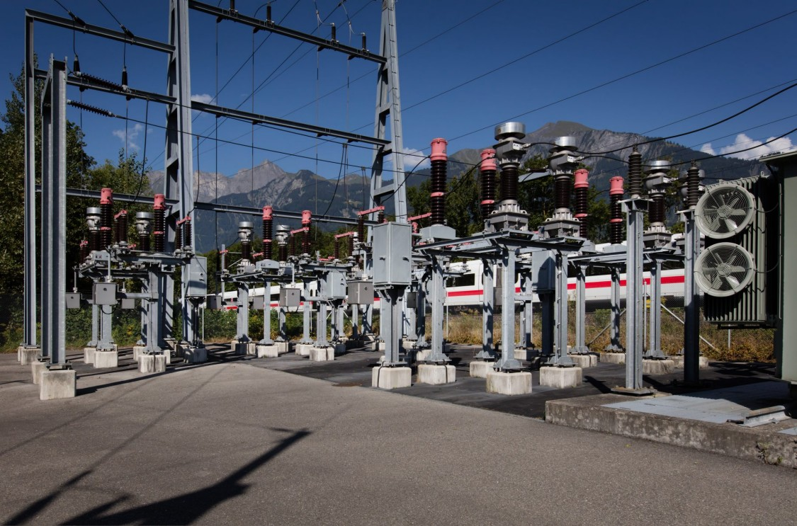 Power supply of the Rhaetian Railway