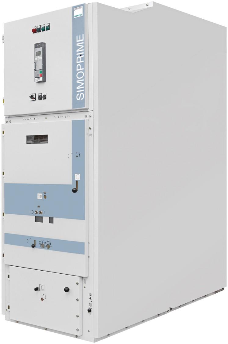 SIMOPRIME Rozdzielnica średniego napięcia 17 kV w izolacji powietrznej